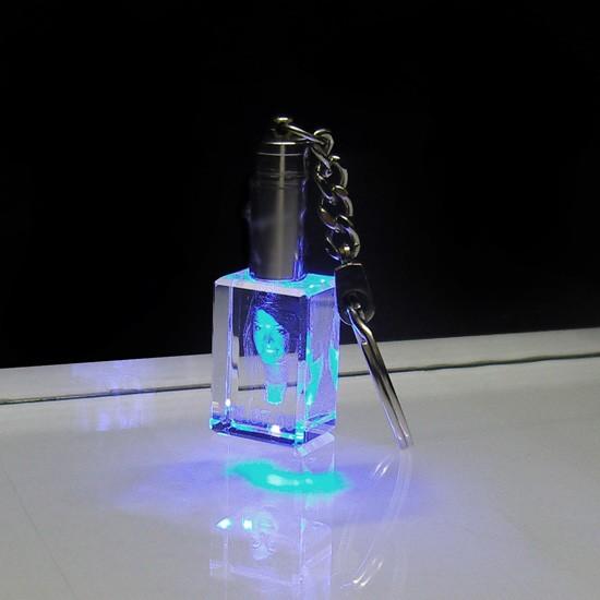 mit LED (Blau)